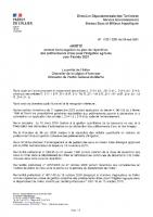 Arrêté du 19 mai-PAR2021